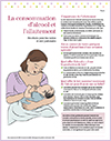 La consommation d'alcool et l'allaitement - Feuillet imprimable